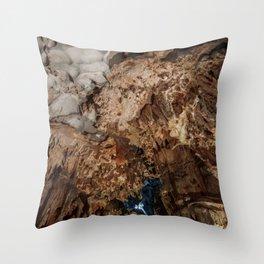 Prometheus Cave Throw Pillow
