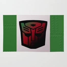 Transformers Generation 1: Rub Sign: Autobot Rug