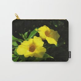 Yellow Dwarf Allamanda Pair Carry-All Pouch