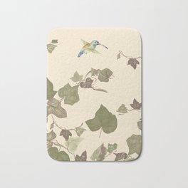 Ivy & hummingbird Bath Mat