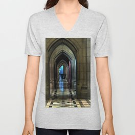 Washington National Cathedral, D.C. Unisex V-Neck