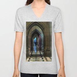 Washington National Cathedral, D.C. Unisex V-Neck