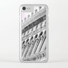 Venetian facade Clear iPhone Case