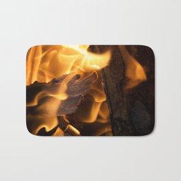 Flames Bath Mat