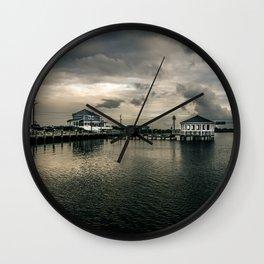 Moody Pier Wall Clock