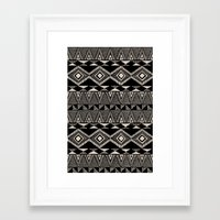 navajo Framed Art Prints featuring Navajo by Stephanie Le Cocq