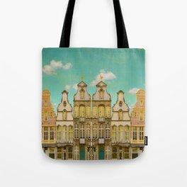 Victorian Street Tote Bag