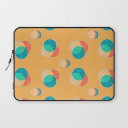 Cute Color Wheel Seamless Pattern Laptop Sleeve