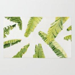 Tropical Banana Leaves Rug