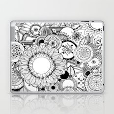 Floral Kaleidoscope  Laptop & iPad Skin