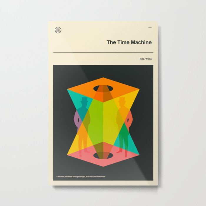 The Time Machine Metal Print