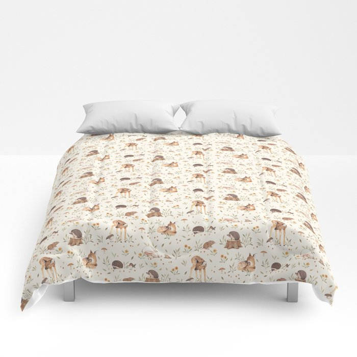 Meadow and Fawn Comforters
