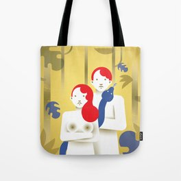 Adam and Eve today Tote Bag