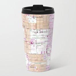 Vintage Map of Palm Springs California (1957) Travel Mug