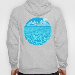 Tropical Ocean by Black Dwarf Designs Hoody