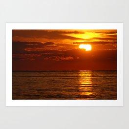 Sunset 1 Art Print