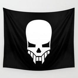 Sinister Skull Wall Tapestry
