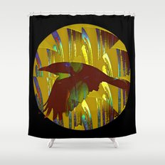 The rook and the moon Shower Curtain