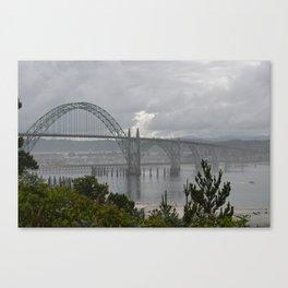 Oregon Bridges Canvas Print