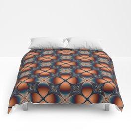 Metallic Deco Copper Comforters