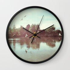 The Lake Wall Clock