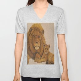 fathers love and pride Unisex V-Neck