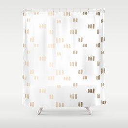 Golden Guards Shower Curtain