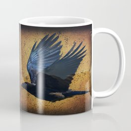Raven's Mountain Art Print Coffee Mug