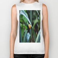snail Biker Tanks featuring Snail by  Agostino Lo Coco