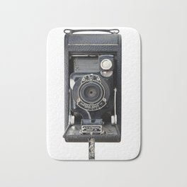 Vintage Autographic Kodak Jr. Camera Bath Mat