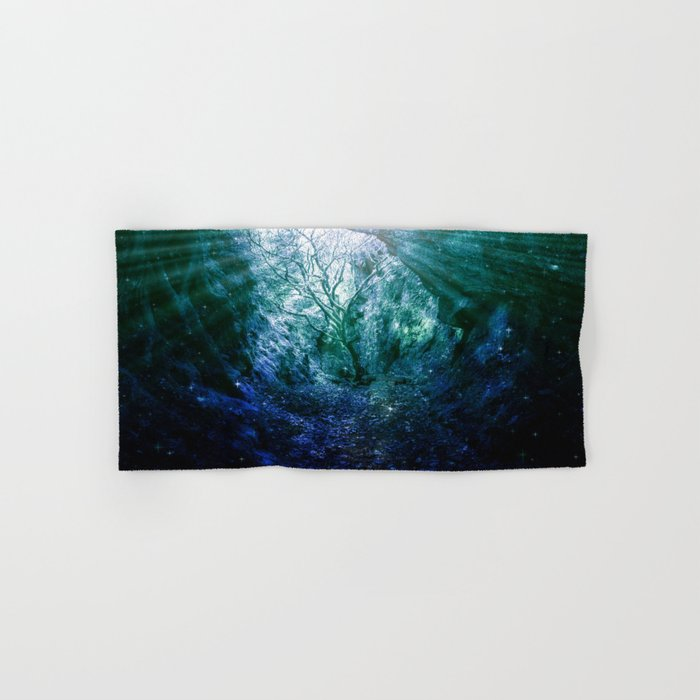 Mystic Tree of Life & Death Hand & Bath Towel