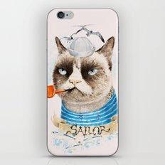 Sailor Cat VIII iPhone & iPod Skin