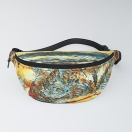 AnimalArt_Hippo_20171201_by_JAMColors Fanny Pack