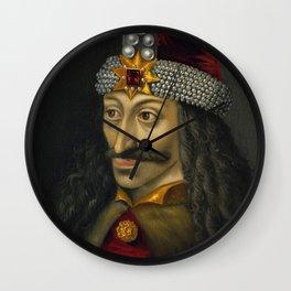 Vlad the Impaler Portrait Wall Clock