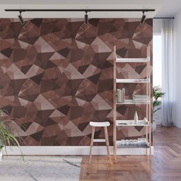 Abstract Geometrical Triangle Patterns 4 Dunn Edwards Spice of Life DET439 Wall Mural