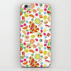 Rainbow candies iPhone Skin