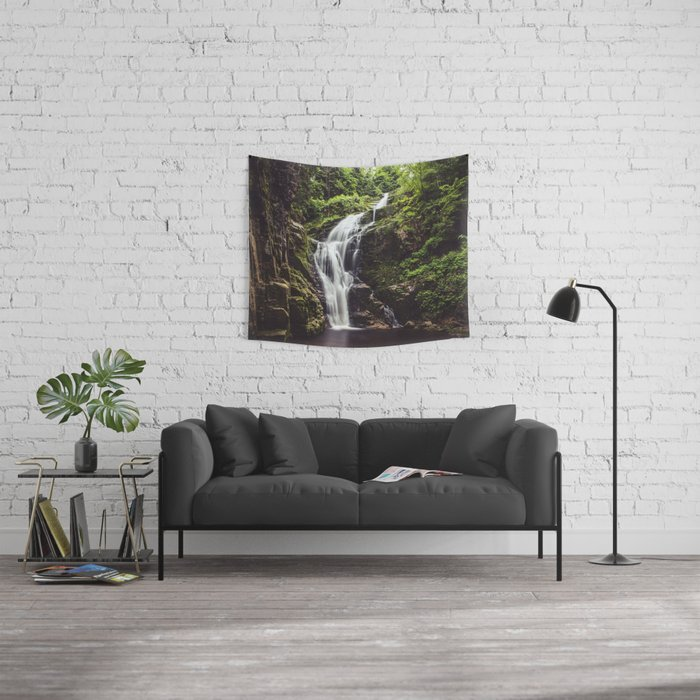 Wild Water - Landscape and Nature Photography Wall Tapestry