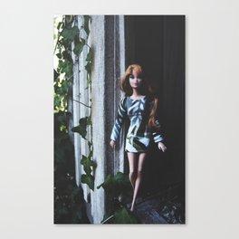 Green Evanesce Canvas Print