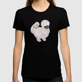 Chicken and Chick - dark T-shirt