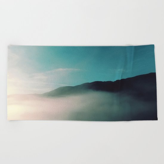 SMOKE Beach Towel