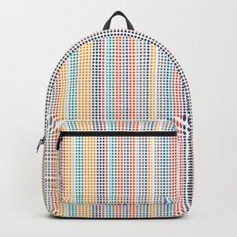 Color grid Backpack