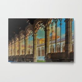 Campo Santo - Interior Courtyard Pisa Landscape by Jeanpaul Ferro Metal Print