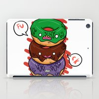 donut iPad Cases featuring Donut by jeff'walker