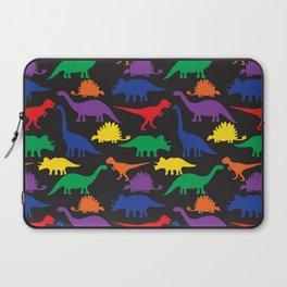 Dinosaurs - Black Laptop Sleeve