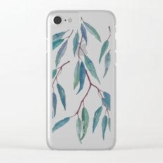 Eucalyptus leaves Clear iPhone Case