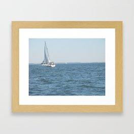 Sweet Day On the Bay Framed Art Print