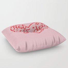 not today satan II Floor Pillow