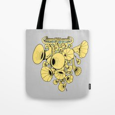 Gramophone DJ Tote Bag