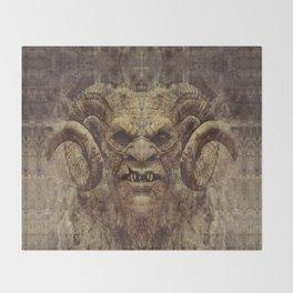 Baphomet Throw Blanket