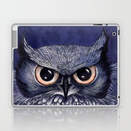 La Sagesse du Hibou (The Blue Owl) Laptop & iPad Skin